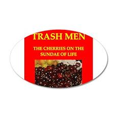 trash men Wall Decal