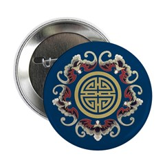 """China Dragon 2.25"""" Buttons (10 pack)"""