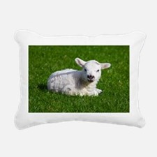 Baby lamb Rectangular Canvas Pillow