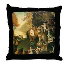 Peaceable Kingdom Throw Pillow