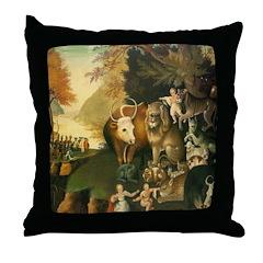 Peaceable Kingdom Throw Pillow