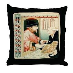 The Manuscript Throw Pillow