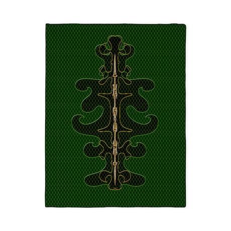 Green as Green Decor Twin Duvet
