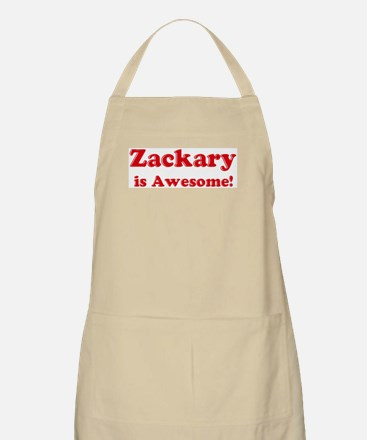 Zackary is Awesome BBQ Apron