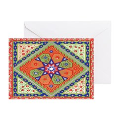 Russian Folkart Note Cards (10)