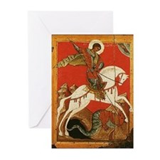 St. George Slaying the Dragon Cards (Pk of 10)