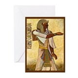 Egyptian cards Greeting Cards (10 Pack)