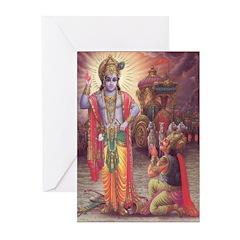 Krishna Greeting Cards (Pk of 10)