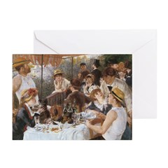 Renoir's Boat Party Greeting Cards (Pk of 10)