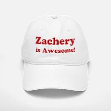 Zachery is Awesome Baseball Baseball Cap