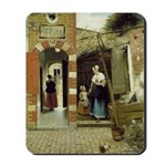 Courtyard in Delft Mousepad