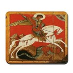St. George Slaying the Dragon Mousepad