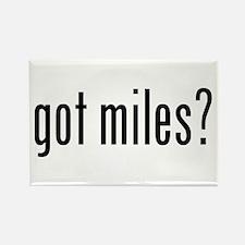 got miles? Rectangle Magnet