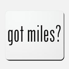 got miles? Mousepad
