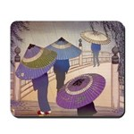 Rain Blossoms Mousepad