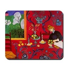Harmony In Red Mousepad