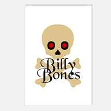 Billy Bones Postcards (Package of 8)