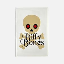 Billy Bones Rectangle Magnet