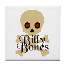 Billy Bones Tile Coaster