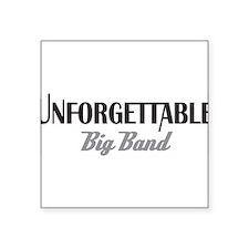 Unforgettable Logo Sticker