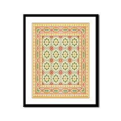 Spanish Tile Design Framed Print