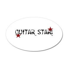 Guitar Star Wall Decal