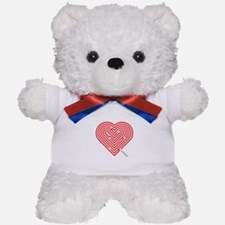 I Love Charlotte Teddy Bear