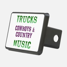 Trucks Cowboys Country Music Hitch Cover