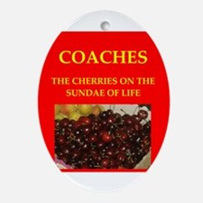 coach Ornament (Oval)