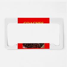 coach License Plate Holder