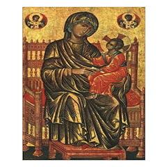 Byzantine Madonna and Child Print