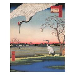 Japanese Cranes Print