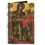 Byzantine Madonna and Child Journal