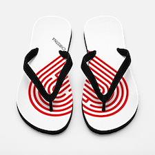 I Love Christina Flip Flops