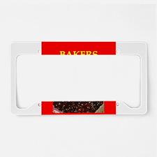 baker License Plate Holder