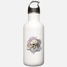 Skull Rose Water Bottle