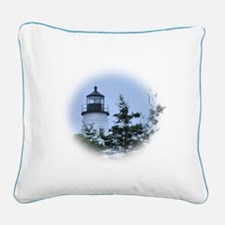 Unique Lighthouse Square Canvas Pillow