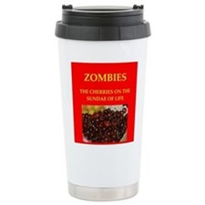 zombie,zombies,undead,living,wlaking, Travel Mug