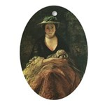 Nelly O'Brien (1762) Keepsake (Oval)