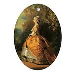The Empress Eugenie Keepsake (Oval)