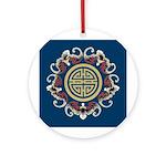 China Dragon Ornament (Round)