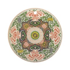 Chinese Floral Ornament (Round)