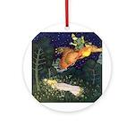 Russian Firebird Fairytale Ornament (Round)