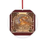 The Zodiac Ornament (Round)