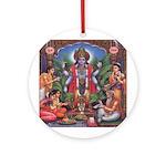 Vishnu Ornament (Round)