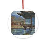 Japanese Arbor Ornament (Round)