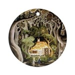 Hansel & Gretel Ornament (Round)