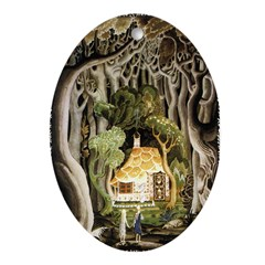 Hansel & Gretel Oval Ornament