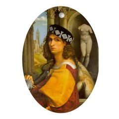 Casanova Oval Ornament