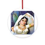 Queen Padmini Ornament (Round)